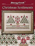 Christmas Sentiments - Cross Stitch Pattern
