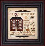 Red Rooster Inn - Cross Stitch Pattern