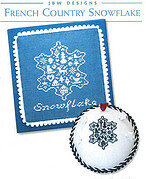 French Country Snowflake - Cross Stitch Pattern