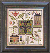 Center Point Sampler - Cross Stitch Pattern