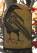 Quaker Crow - Cross Stitch Pattern