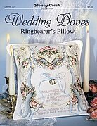 Wedding Doves - Ringbearer's Pillow - Cross Stitch Pattern