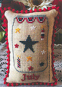 What's in Your Jar - July - Cross Stitch Pattern