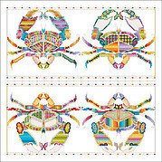 Crab Cakes - Cross Stitch Pattern