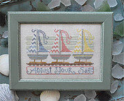 Adjust Your Sails - To the Beach  4 - Cross Stitch Pattern