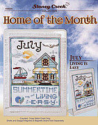 Home of the Month July - Cross Stitch Pattern