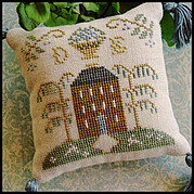 ABC Sampler No 2 DE - Cross Stitch Pattern