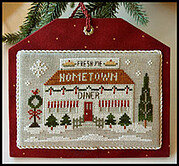 Diner - Hometown Holiday - Cross Stitch Pattern
