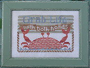 Grab Life - To the Beach 8 - Cross Stitch Pattern