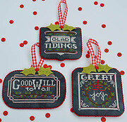 Chalkboard Ornaments - Christmas Collection Part 2