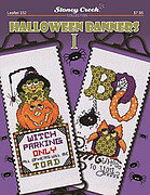 Halloween Banners I - Cross Stitch Pattern
