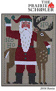 2016 Schooler Santa - Cross Stitch Pattern