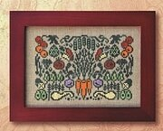 Arranging Vegetables - Cross Stitch Pattern