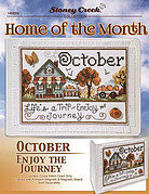 Home of the Month October - Cross Stitch Pattern