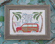 Surf Life - To the Beach 10 - Cross Stitch Pattern