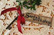 Santa's Workshop - Cross Stitch Pattern