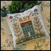 Little House ABC Samplers No 7 - RST  - Cross Stitch Pattern