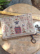 Schoolgirl Sampler Sewing Bag - Cross Stitch Pattern