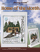 Home of the Month - January - Cross Stitch Pattern