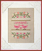 Love Birds - Cross Stitch Pattern