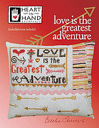 Love is the Greatest Adventure - Cross Stitch Pattern
