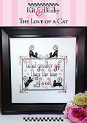Love of a Cat, The - Cross Stitch Pattern