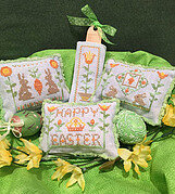 Easter Whimsies - Cross Stitch Pattern
