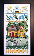Country Style Sampler - Cross Stitch Pattern