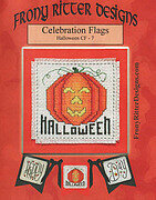 Celebration Flags Halloween - Cross Stitch Pattern