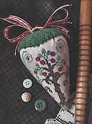 Eden Berry - LINEN Berry Collection - Cross Stitch Pattern