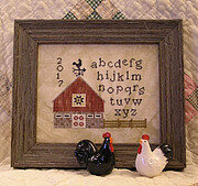 Barn Quilt Sampler - Cross Stitch Pattern