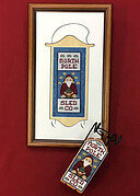 North Pole Sled Company - Cross Stitch Pattern