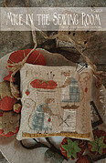 Mice in the Sewing Room - Cross Stitch Pattern