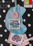 Moon Baby Pocket Card - Cross Stitch Pattern