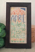April Mini Sampler - Cross Stitch Pattern