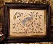 Tis a Lovely Bird - Cross Stitch Pattern