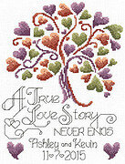 Love Story Wedding - Cross Stitch Pattern