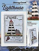 Lighthouse of the Month June - Cross Stitch Pattern