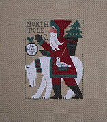 2017 Schooler Santa - Cross Stitch Pattern