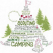 Let's Go Camping - Cross Stitch Pattern