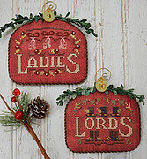 Ladies & Lords - 12 Days - Cross Stitch Pattern