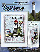 Lighthouse of the Month July - Cross Stitch Pattern