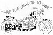Let's Ride - Cross Stitch Pattern