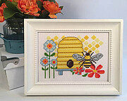 Busy as a Bee - Cross Stitch Pattern