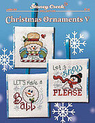 Christmas Ornaments V - Cross Stitch Pattern