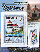 Lighthouse of the Month - August - Cross Stitch Pattern