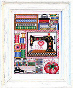 My Sewing Treasures - Cross Stitch Pattern