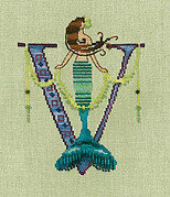 Letters From Mermaids V - Cross Stitch Pattern