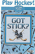 Play Hockey - Cross Stitch Pattern