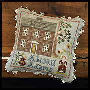 Abigail Adams - Early American - Cross Stitch Pattern